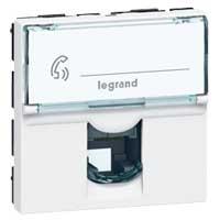 Mosaic Prise Rj11 4 Contacts Legrand Group E Cataleg